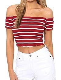 FAMILIZO Camisetas Mujer Manga Corta Camisetas Mujer Verano Blusa Mujer Sport Tops Mujer Verano Camisetas Sin