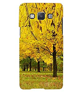 ColourCraft Beautiful Tree Design Back Case Cover for SAMSUNG GALAXY A7