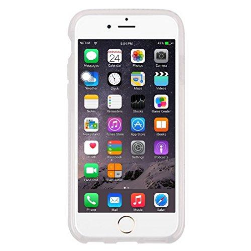Wkae Case Cover Für iPhone 6 Plus &6s Plus-Honeycomb Textur TPU-Schutzhülle ( Color : Purple ) White