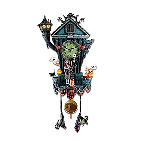 Nightmare Before Christmas Cuckoo Clock by The Bradford