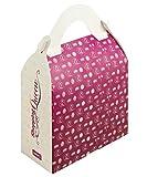 Lurch 86415 Shopping Queen Gebäckverpackung Handtasche 2er Set Papier, Rosa