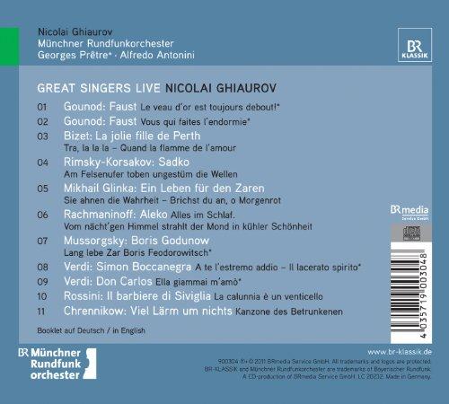 Nicolai Ghiaurov, Basse