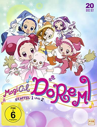 Magical Doremi - Gesamtedition Staffel 1+2: Episode 01-100 [20 DVDs]