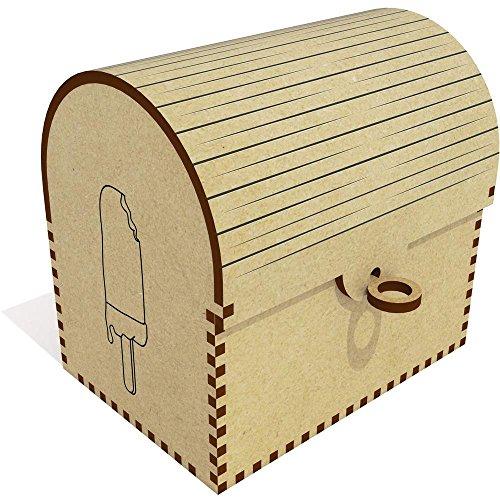 """TC00017710      Diseño original por Sophia Dunn.   Este es un hermoso cofre del tesoro de MDF con una tapa flexible. Ideal para almacenar joyas, pequeños tesoros y otros artículos. El cofre del tesoro viene con una selección de """"llaves"""" con d..."""