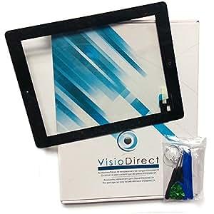 Vitre ecran tactile pour Asus Memo Pad ME103 ME103K noir + outils - Visiodirect -