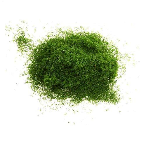 AAGOOD Eine Tasche Schwamm Baum verlässt Gras-Pulver Pulver DIY Handarbeit Modellbau Modell Mini dunkelgrüne Landschaft -