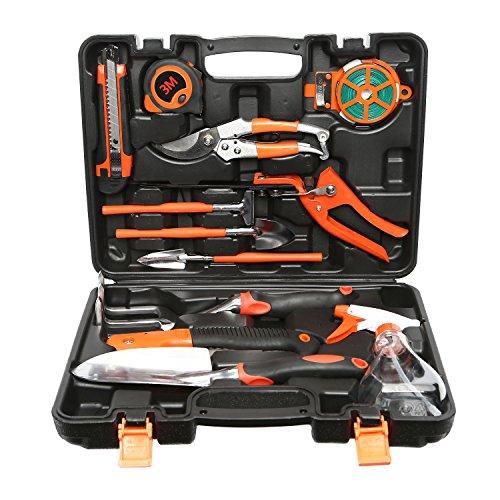 LESOLEIL Garten Werkzeug Set 12-teilig