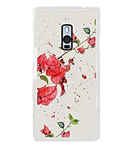 Beautiful Flowers 2D Hard Polycarbonate Designer Back Case Cover for OnePlus 2 :: OnePlus Two :: One +2