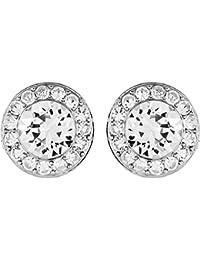 Swarovski Damen-Ohrstecker Angelic rhodiniert Glas weiß - 5118533