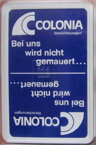 Preisvergleich Produktbild Colonia Versicherungen - Skatspiel - franz. Blatt