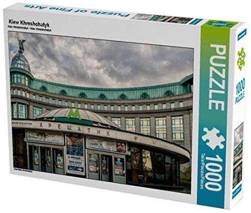 Preisvergleich Produktbild Kiew Khreshchatyk 1000 Teile Puzzle quer: Kiew Metro Khreshchatyk (CALVENDO Orte)