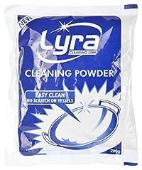 Lyra Cleaning Powder - 200 ml (Light Brown)