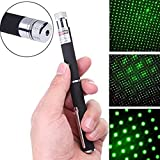 Shivsoft Laser Disco Pointer Pen with Adjustable Cap (Green)