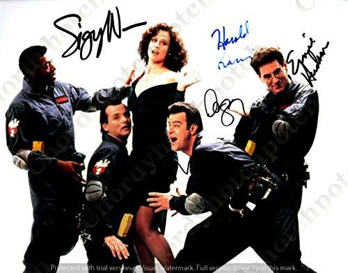 Ghostbusters Cast - 40 - Sexy Photo Autograph Autographed photo Signed Autogramm Reprint cm 17 * 13 RP ()