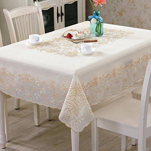 Preisvergleich Produktbild Americidylllic PVC-Kunststoff wasserdicht Speisen Tables-Free Kaffee Pads Tischdecken ruhenden weichen Kunststoff Couchtisch aus Glas Matten, Venus, 137 * 180 Cm