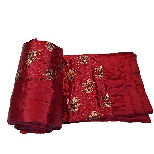 Jaipur Nagri Silk Double Bed Jaipuri Razai Quilt Light Weight with cotton...