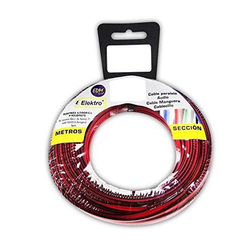 Angelrolle Parallel rot/schwarz 2x 1,5–15mt
