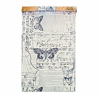 Unbekannt Tim Holtz idea-Ology Melange Tissue Wrap, weiß, Synthetic Material, Mehrfarbig 4.4 x 4.4 x 31.8 cm