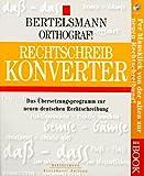Bertelsmann Orthograf. Rechtschreib- Konverter. CD- ROM für Windows 3. 11/95/NT. Das Übersetzungsprogramm zur neuen deutschen Rechtschreibung