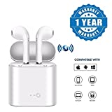 #5: Teconica A Series I7S TWS Wireless Portable Dacom OEM Wireless Earphone with Mic Compatible with All Kind of Smartphones - White