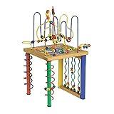 """Motorikschleife """"Spieltisch"""" mit zwölf Motorikschleifen und einem -Labyrinth,  kindgerechte Größe für stundenlangen Spielspaß, für viele Kinderhände ab 3 Jahren"""
