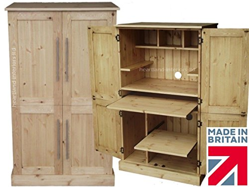 solid-pine-desk-4-door-computer-workstation-hideaway-hidden-home-office-cabinet-choice-of-colours-no
