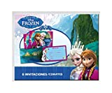 Disney Frozen 6 Einladungen mit Umschlag (Verbetena 014001263)