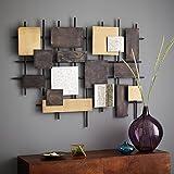 Squires and Squires - Soporte decorativo de pared, hecho a mano de metal, 23x 29x 3cm
