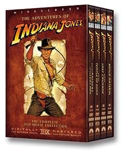 Indiana Jones : La Trilogie - Coffret 4 DVD [Import US Zone 1] - Widescreen [Import USA Zone 1]