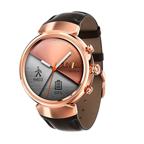 Asus 90NZ0066-M00730 ZenWatch 3 (512MB, 4GB Speicher, Android, 3,53 cm (1,39 Zoll)) Rosegold 4 Gb Usb-uhr