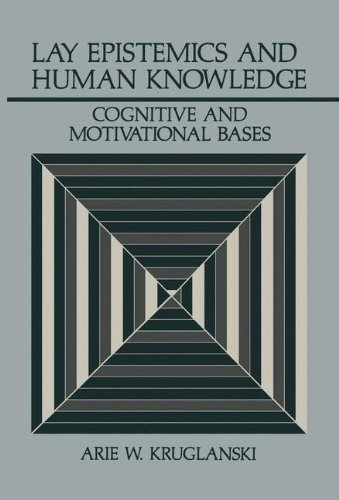 Lay Epistemics and Human Knowledge: Cognitive And Motivational Bases (Perspectives In Social Psychology) -