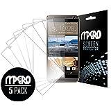 Mpero Pack de 5Ultra Clear Film de protection d'écran pour HTC One E9+
