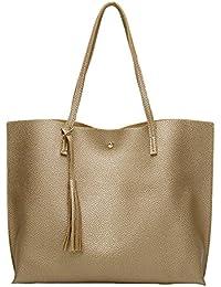 3f015593e514d Fueerton Damen Handtasche Schultertasche Shopper Taschen Umhängetasche