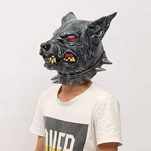 Maskerade Prom Maske gruseligen Latex Cosplay Halloween Wolf Kopf Maske Tier Party Kostüm Theater Prop (Made At Home Kostüm)