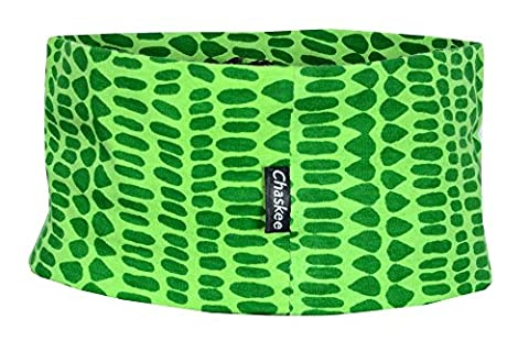chaskee Junior élastique Head Band Mangrove (enfants stretch Bandeau cheveux), vert