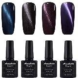 Annabelle Katze Augen Magnet Nagellack UV Nagellack Soak Off Nail Art 7.3ml (7.3ml/pc Lot de 4) 026