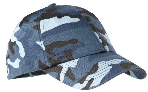 Port Authority® Camouflage Cap. C851 Navy Camo OSFA (Authority Port Twill Cap)