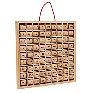Small Foot Company - 3459 - Calcul Et Mathématiques - Table De Multiplication - Rio