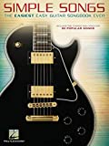 Simple Songs: The Easiest Easy Guitar Songbook Ever: Noten, Sammelband für Gitarre