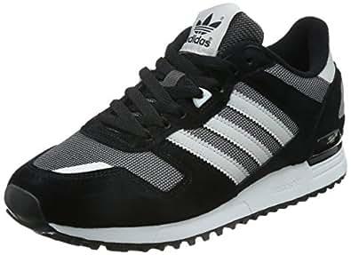Adidas zx 700, zapatos corrientes de los hombres de negro (shadow negro S16 / ST / luz