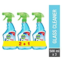 Dettol Glass Cleaner 500ml Twin Pack + 1 Free