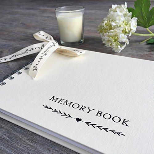 Angel & Dove, A5Erinnerungsbuch für Beerdigungen, zum Andenken, als Kondolenzbuch (evtl. nicht in deutscher Sprache)