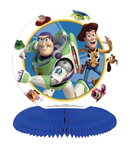 Amscan Toy Story Tischaufsteller mit Wabenmuster (Story-ballons Toy)