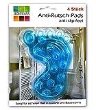 HAC24 4X Antirutsch Einlag für Badewann/Dusche | Duschmatte | Wanneneinlage