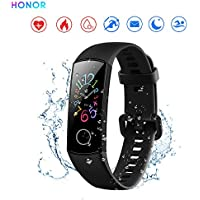HONOR Band 5 Smart Bracelet Heart Rate 0.95 Inch Colourful AMOLED Display Real Time Heart Rate Monitor 5ATM Waterproof Sports Watch