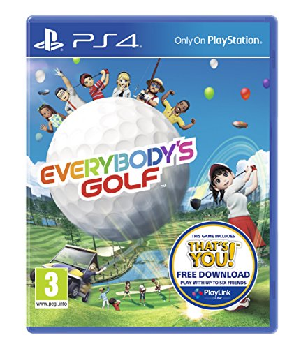 Sony Everybody's Golf (Includes free download of That's You) - PS4 Best Price and Cheapest