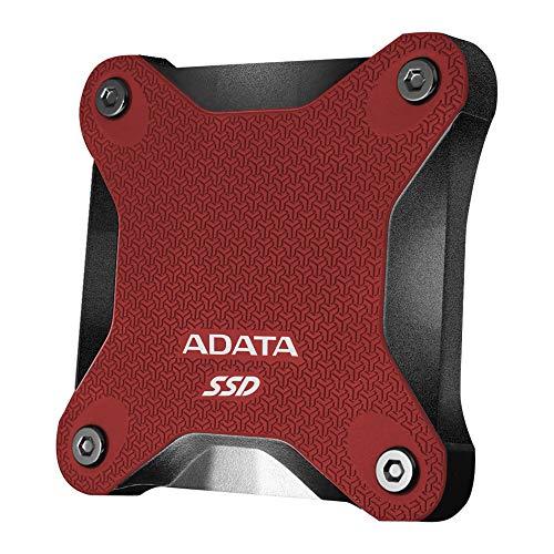 ADATA 480GB SD600Q Unidad Externa de Estado sólido USB 3.1 - Rojo