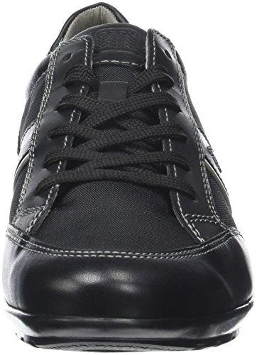 Geox Herren Uomo Symbol A Sneaker Schwarz (nero)