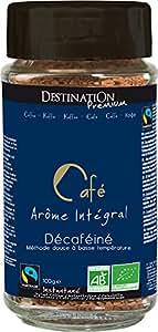 Café Instantané Lyophilisé Décaféiné Bio Equitable - 100g