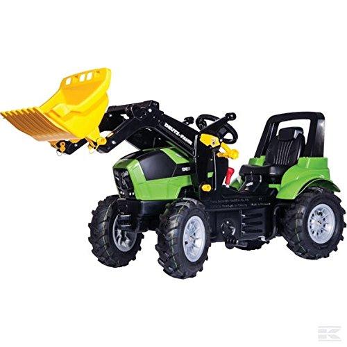 Rolly Toys Traktor DEUTZ R71015 mit Luftbereifung + rollyTrac Lader + Schaltung
